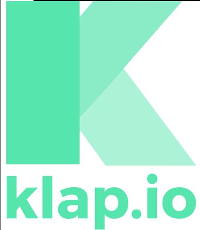 Klap logo