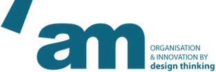 'am design thinking logo